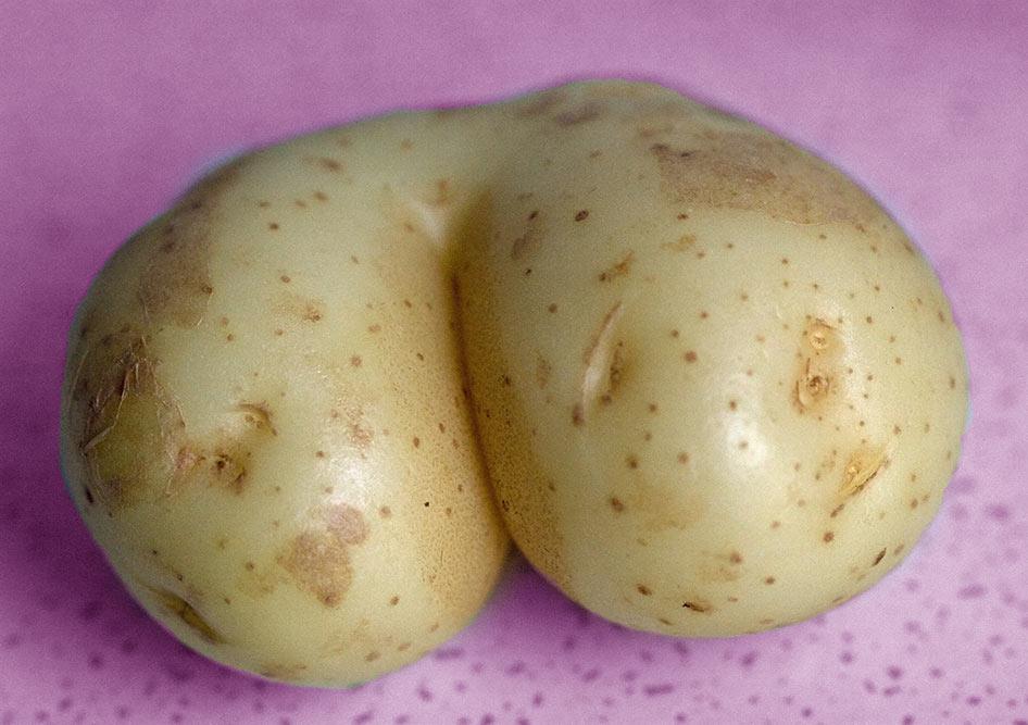 так сексуальный картофель парашу
